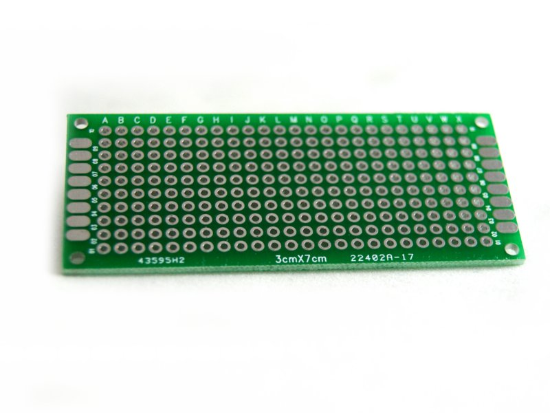 Baquelita PCB Pre-perforada 3x7-cm