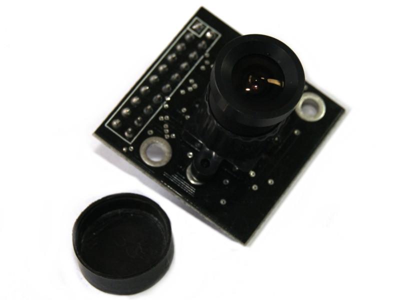 Vista superior. Cámara VGA OV7660