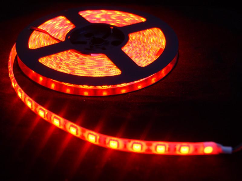 Tira de LEDs Rojo