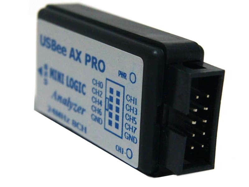 Analizador lógico Saleae 24Mhz 8CH compatible