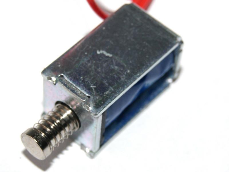 Válvula solenoide mini 3V a 12V