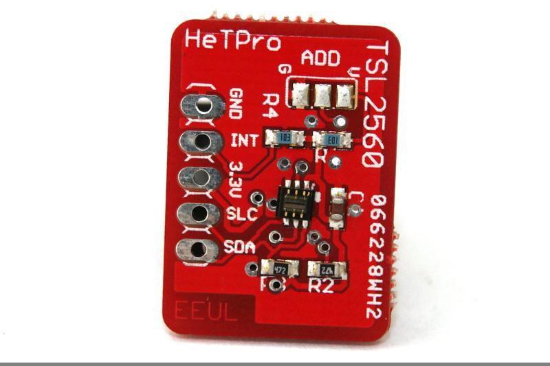 Sensor de luz TSL2560