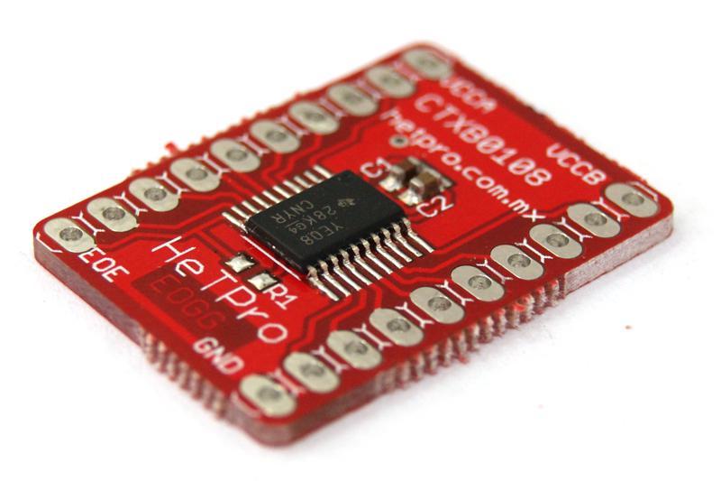 TXB0108 convertidor lógico 5v 3.3v