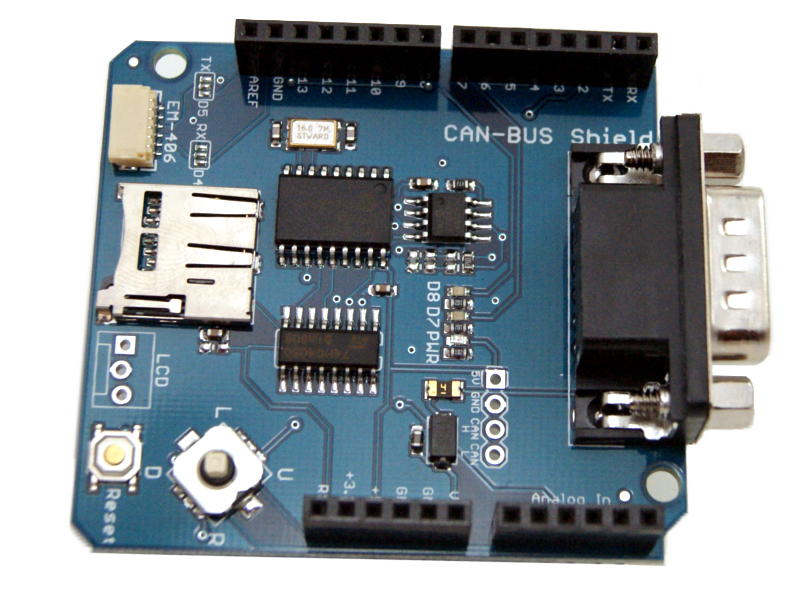 Can bus v2-0B shield MCP2515 SPI