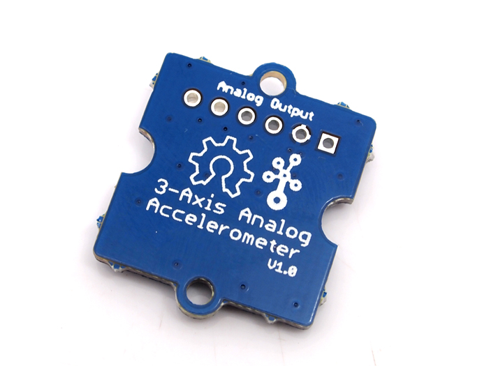 Sensor grove acelerometro ADXL335