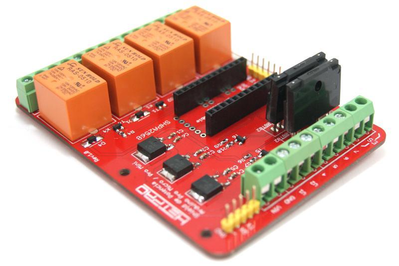 Tarjeta de potencia para Arduino Pro Micro