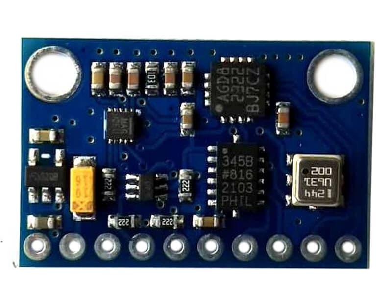 IMU GY-802 10DOF I2C L3G4200D ADXL345 HMC5883L BMP085
