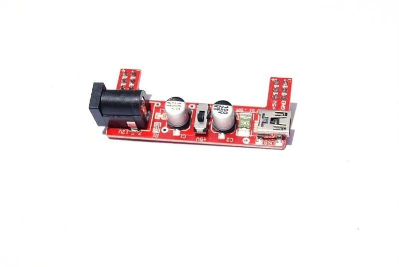 Regulador de voltajes para proto board 5V/3.3V