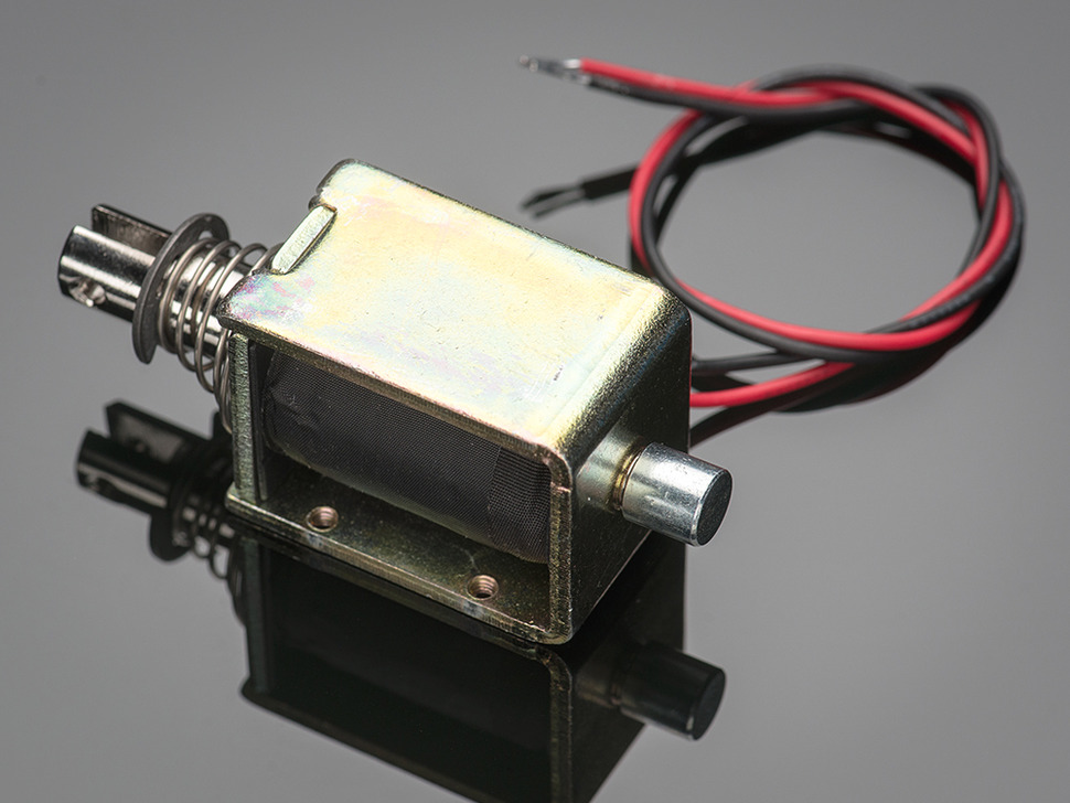 Solenoide Large push-pull