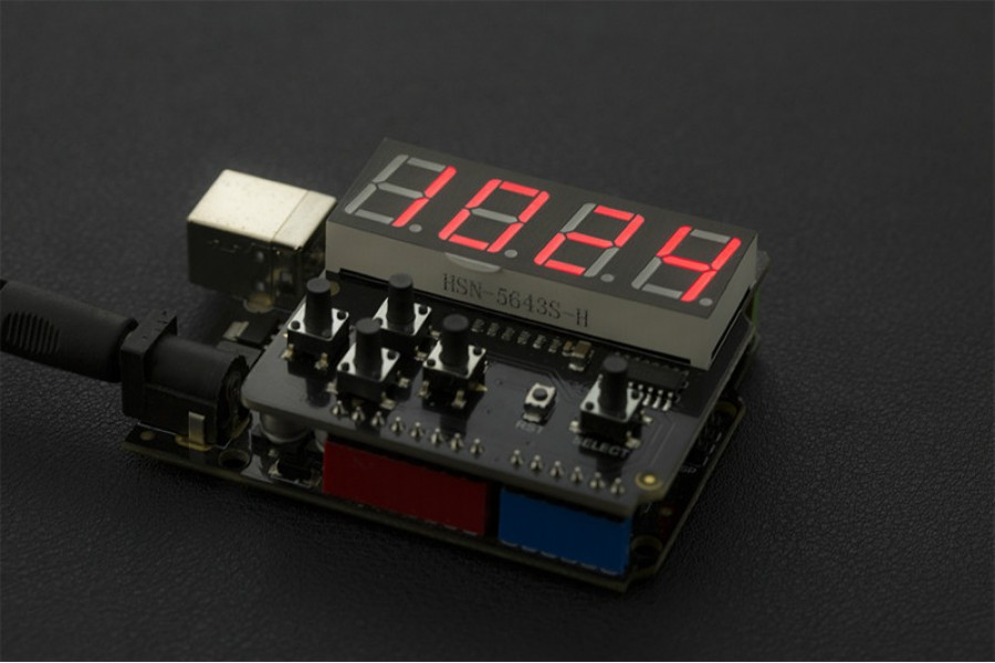 LED Keypad Shield For Arduino