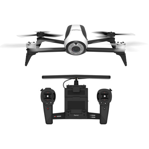 Parrot BeBop Drone 2 with Skycontroller (White)