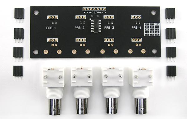 Tarjeta portadora multi circuito comunicacion UART