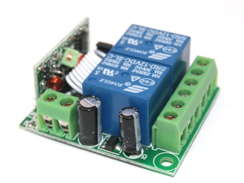 Control Remoto RF 2CH a Relevador